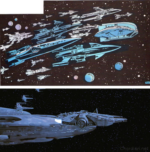 Empire of a Thousand Planets (1970) versus Return of the Jedi (1983)