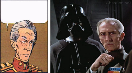 Ambassador of the Shadows (1975) versus A New Hope (1977)