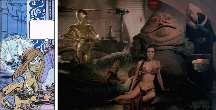 World Without Stars (1971) versus Return of the Jedi (1983)