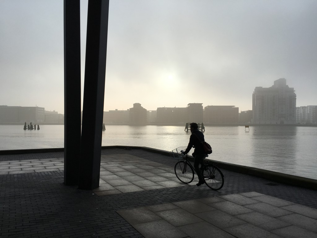 Misty Morning at Kalvebod Brygge