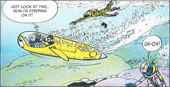 Spirou and Fantasio: The Moray's Hideout