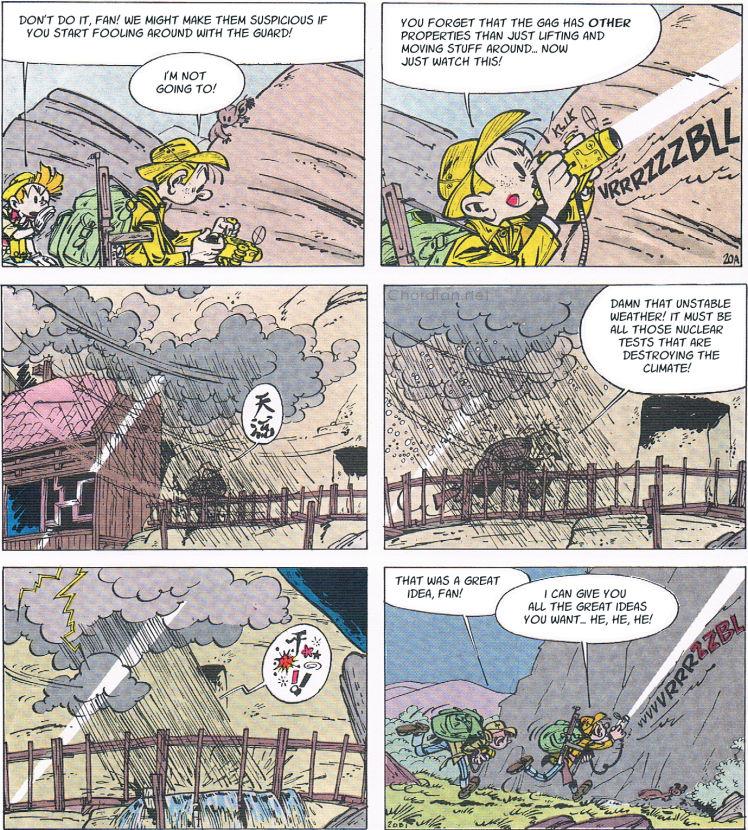 Spirou and Fantasio: The Prisoner of the Buddha