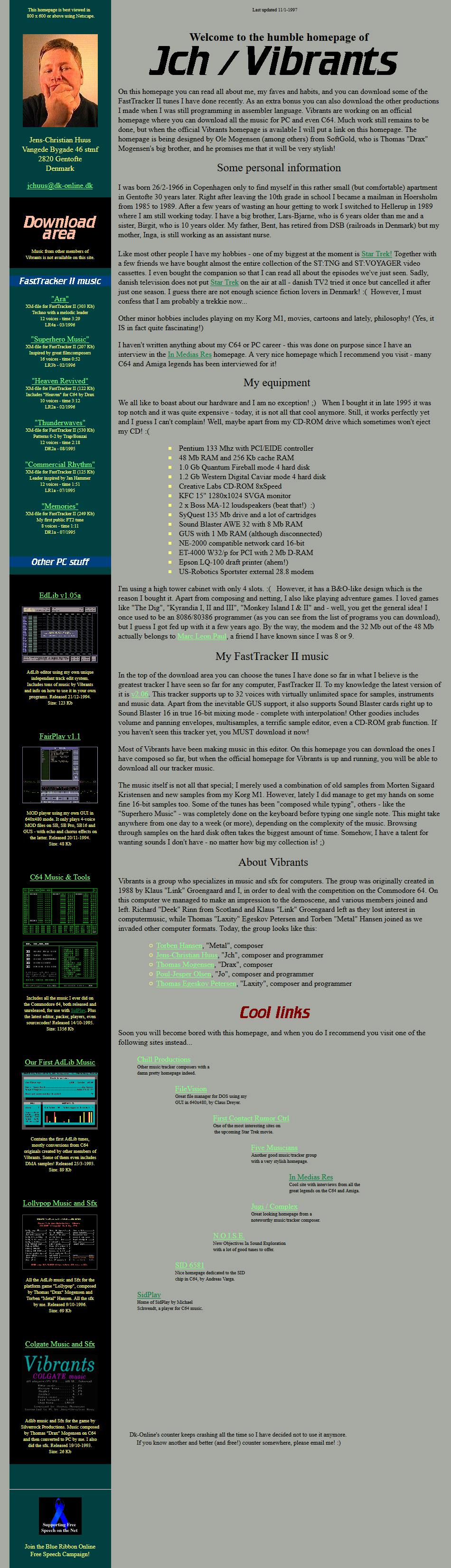 First Web Site