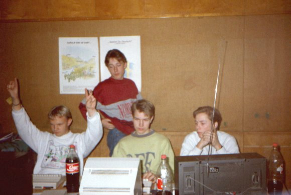 Censor Halloween Party 1990