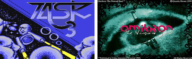 Task III (C64) and Omikron: The Nomad Soul (PC)