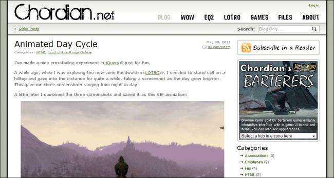 Chordian.net in 2011