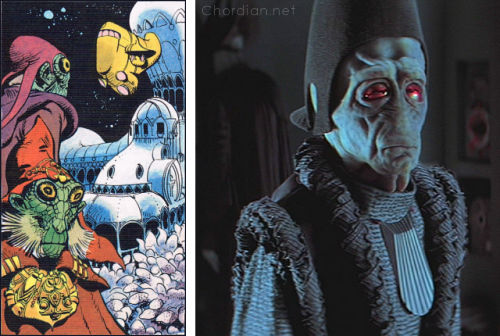 Ambassador of the Shadows (1975) versus The Phantom Menace (1999)