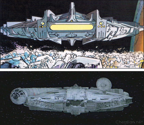 Welcome to Alflolol (1972) versus A New Hope (1977)