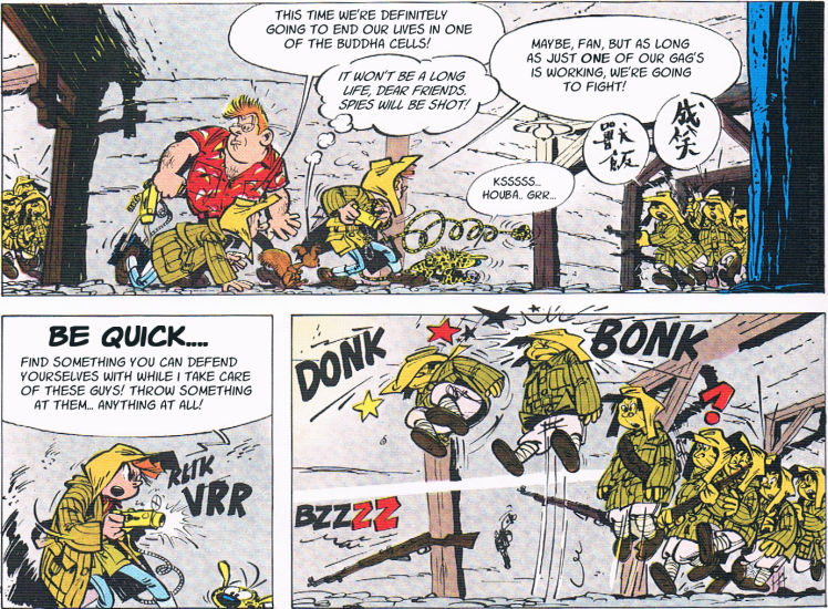 Spirou and Fantasio: The Prisoner of the Buddha
