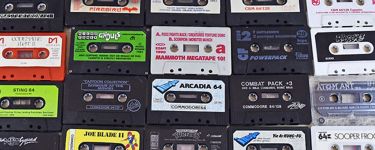 C64 Cassette Tapes