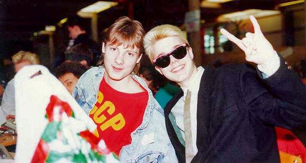 Scorpio and Manimal (1988)
