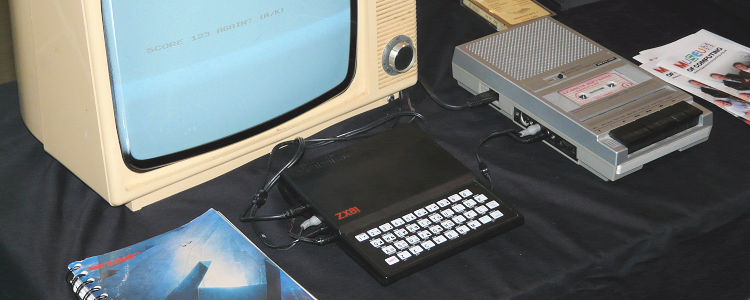 ZX81 with Tape Recorder