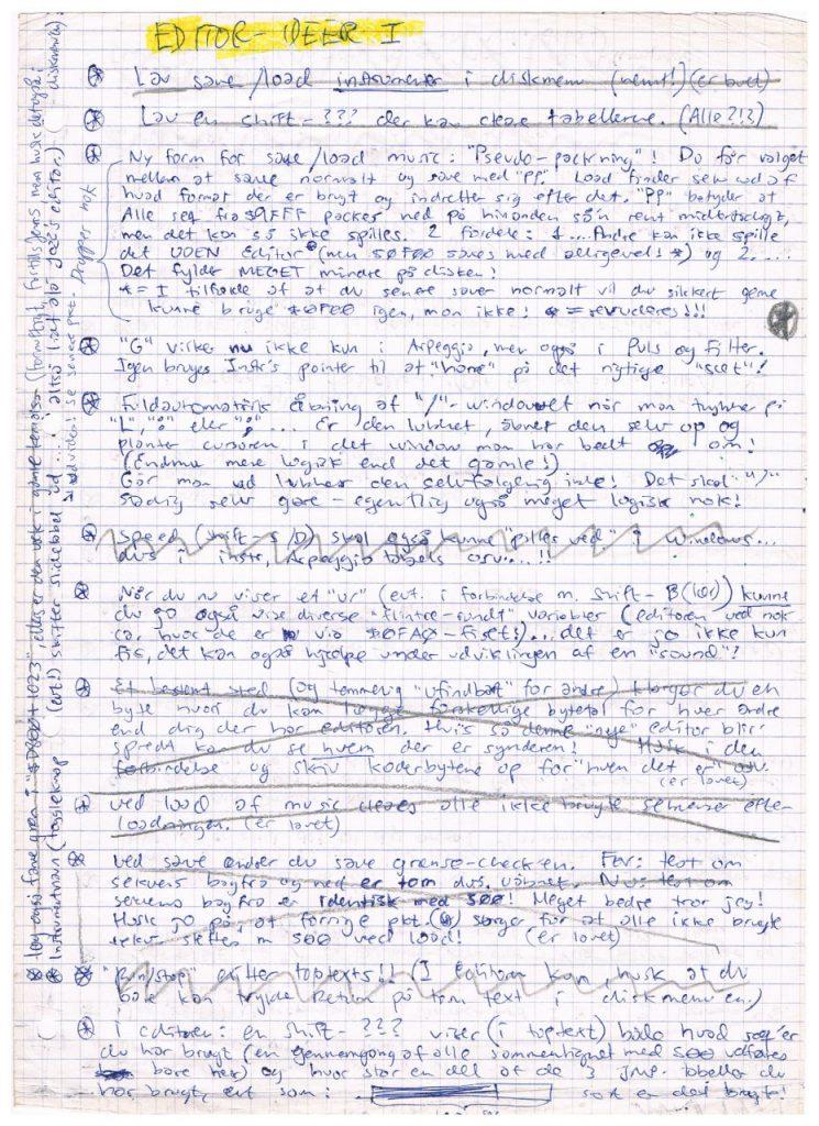 Editor Ideas I (Page 1)