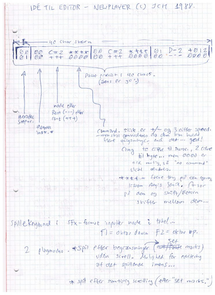Editor Ideas NewPlayer 1988