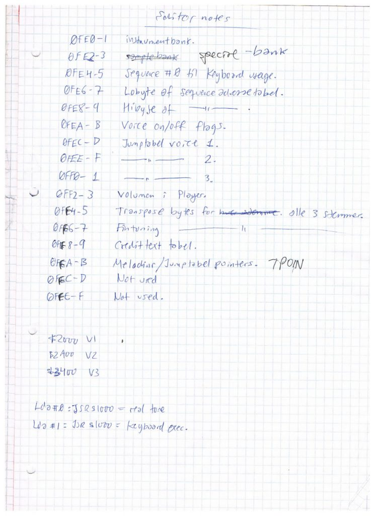 Editor Notes