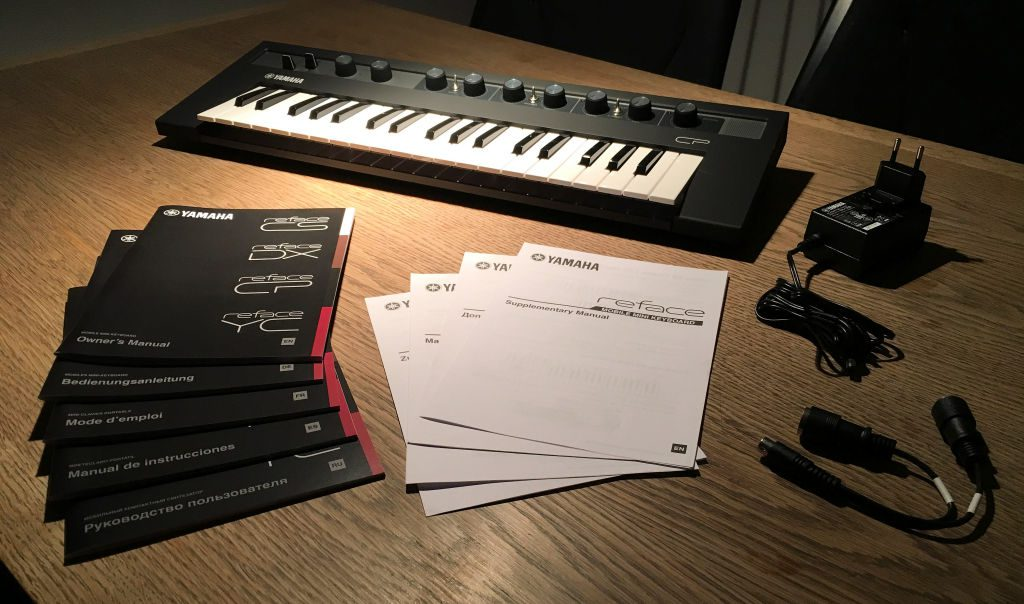 Yamaha CP Unboxed